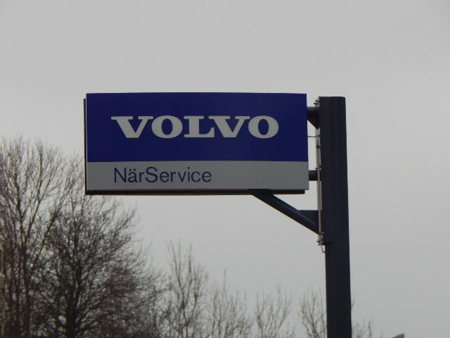 Volvo skylt
